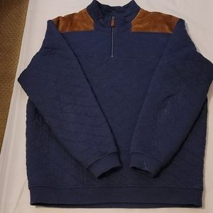 Vineyard vines quilted pullover size large
